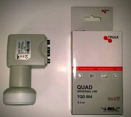 LNB Triax Quad